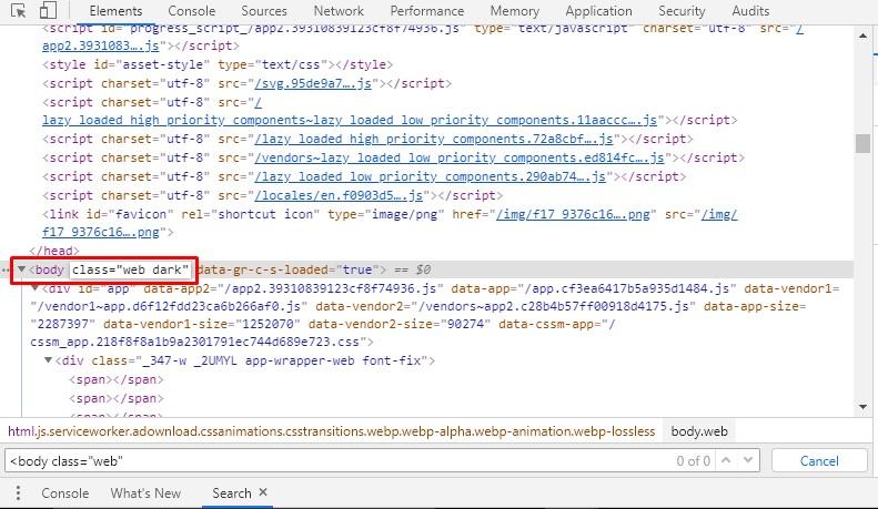 Modify the code
