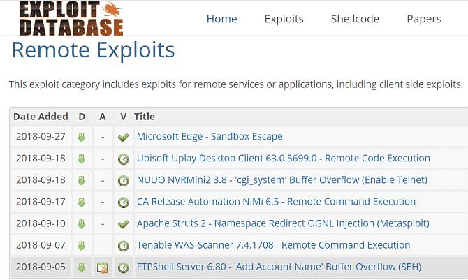 Exploit Database