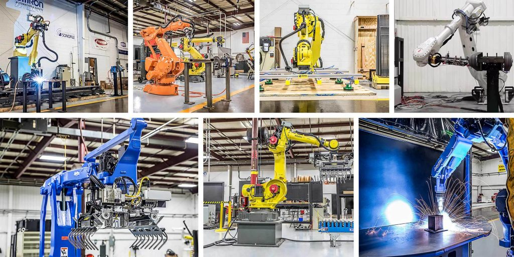 Industrial Automation with Robots