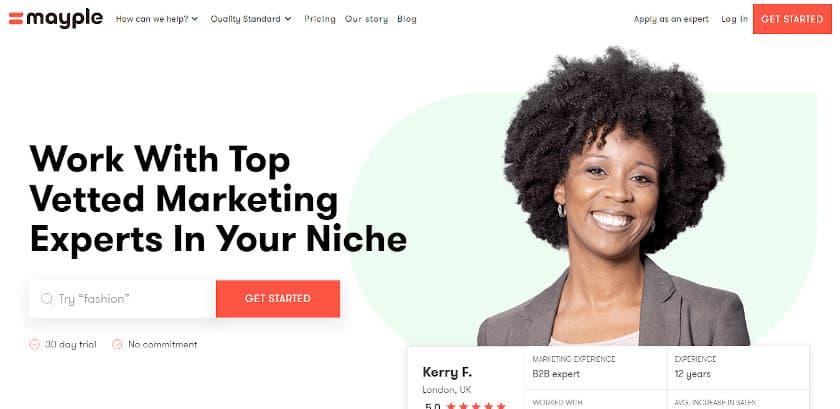 mayple real estate marketing agency