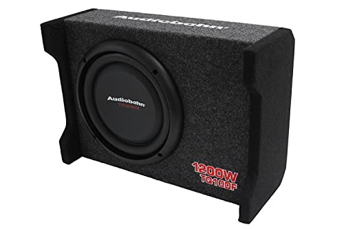 Audiobahn TQ10DF 10 inch Car/Truck Subwoofer review