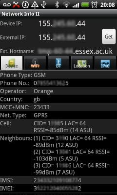Check DNS Server On Android