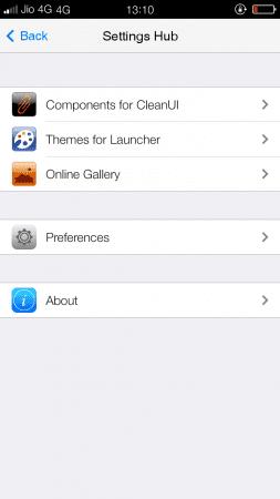 """Explore the """"Settings Hub"""" to customize the homescreen"""