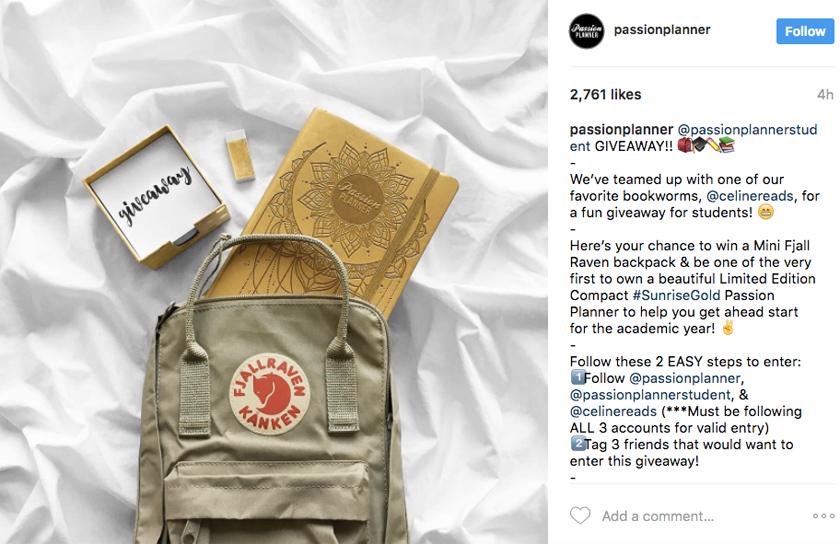 fashion-brands-marketing-strategy-giveaways